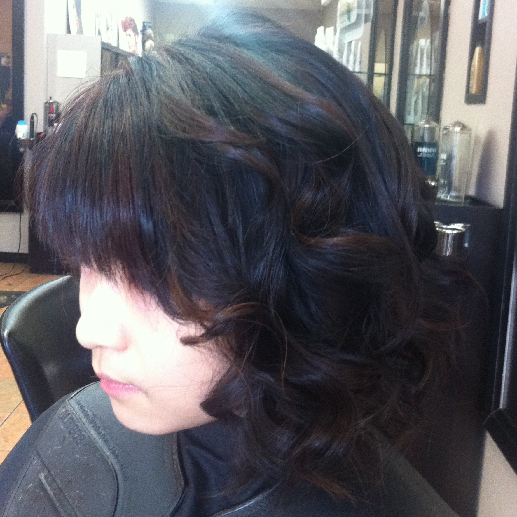 Highlights On Asian Hair Visible Changes Hair Design